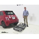 Rola 21x55 Hitch Cargo Carrier Review - 2013 Fiat 500