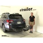 Rola 21x55 Hitch Cargo Carrier Review - 2015 Subaru Outback Wagon