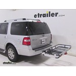 Rola Dart Folding Hitch Cargo Carrier Review - 2014 Ford Expedition