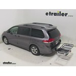 Rola Dart Folding Hitch Cargo Carrier Review - 2014 Toyota Sienna
