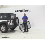 Rola Dart Hitch Cargo Carrier Review - 2009 Jeep Wrangler