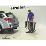 Rola Dart Hitch Cargo Carrier Review - 2013 Subaru Outback Wagon