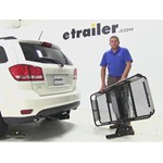 Rola Dart Hitch Cargo Carrier Review - 2014 Dodge Journey