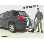 Rola Dart Hitch Cargo Carrier Review - 2014 GMC Terrain