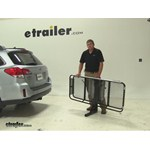 Rola Dart Hitch Cargo Carrier Review - 2014 Subaru Outback Wagon