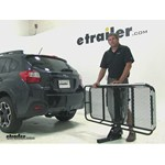 Rola Dart Hitch Cargo Carrier Review - 2014 Subaru XV Crosstrek