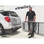Rola Dart Hitch Cargo Carrier Review - 2015 Chevrolet Equinox