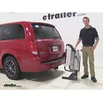 Rola Dart Hitch Cargo Carrier Review - 2015 Dodge Grand Caravan