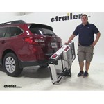 Rola Dart Hitch Cargo Carrier Review - 2015 Subaru Outback Wagon