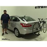 Rola  Hitch Bike Racks Review - 2012 Ford Focus