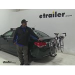Rola  Hitch Bike Racks Review - 2015 Chevrolet Cruze