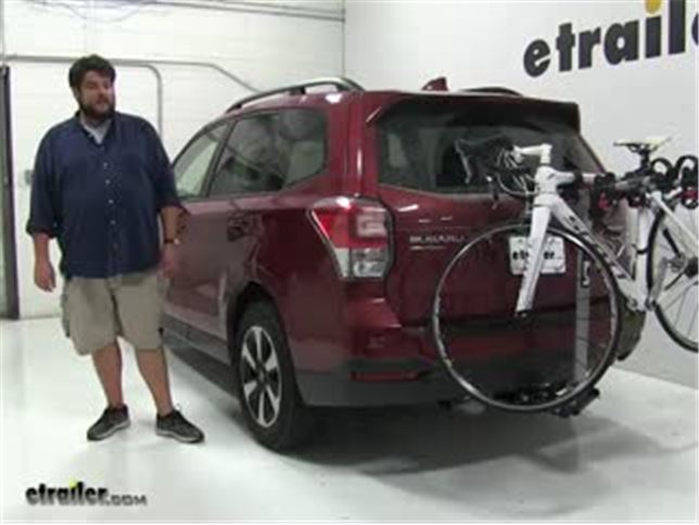 Rola Hitch Bike Racks Review 2017 Subaru Forester Video Etrailer Com