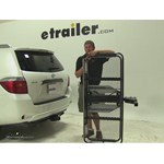 Rola Dart Folding Hitch Cargo Carrier Review - 2008 Toyota Highlander
