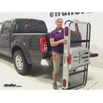 Rola Dart Folding Hitch Cargo Carrier Review - 2014 Nissan Frontier