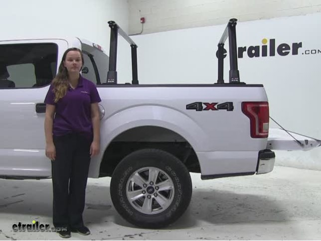 rola ladder racks review - 2015 ford f-150 video | etrailer