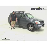 Rola  Roof Cargo Carrier Review - 2003 Honda Pilot