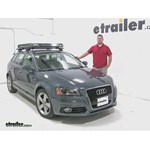 Rola  Roof Cargo Carrier Review - 2012 Audi A3