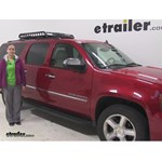 Rola  Roof Cargo Carrier Review - 2013 Chevrolet Suburban