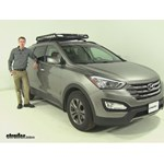 Rola  Roof Cargo Carrier Review - 2013 Hyundai Santa Fe