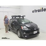 Rola  Roof Cargo Carrier Review - 2013 Toyota Prius c
