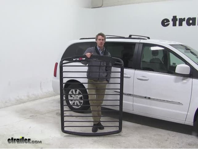 Rola Roof Cargo Carrier Review   2015 Chrysler Town And Country