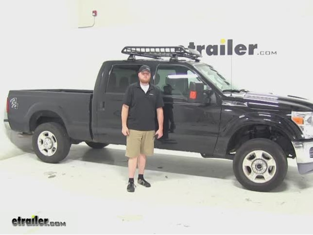 Charming Rola Roof Cargo Carrier Review   2015 Ford F 250 Super Duty Video |  Etrailer.com