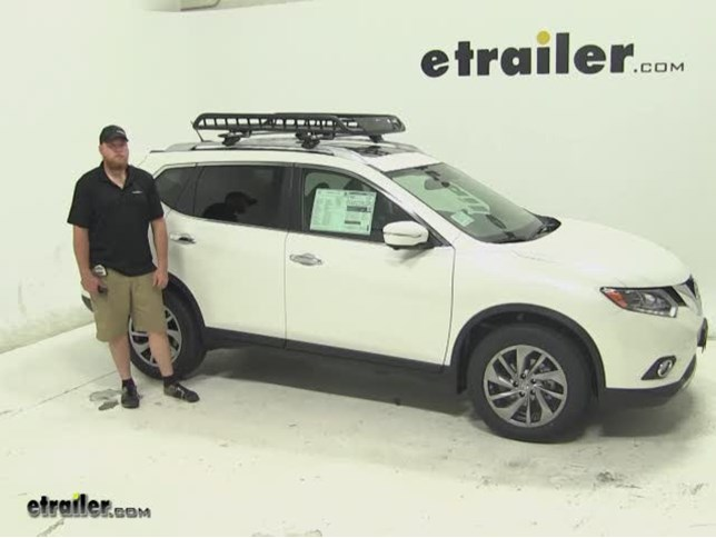 Lovely Rola Roof Cargo Carrier Review   2015 Nissan Rogue Video | Etrailer.com