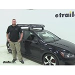 Rola  Roof Cargo Carrier Review - 2015 Volkswagen Golf