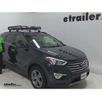 Rola  Roof Cargo Carrier Review - 2016 Hyundai Santa Fe