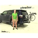 Rola TX-104 Hitch Bike Racks Review - 2016 Toyota 4Runner