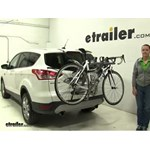 Saris Bones Trunk Bike Racks Review - 2013 Ford Escape