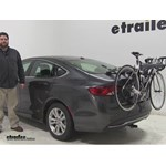 Saris Bones Trunk Bike Racks Review - 2015 Chrysler 200