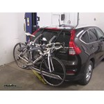 Saris Bones Trunk Bike Racks Review - 2015 Honda CR-V