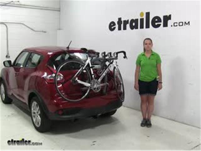 Saris Bones Trunk Bike Racks Review 2016 Nissan Juke Video