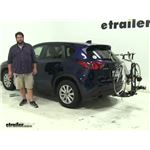 Saris Freedom Hitch Bike Racks Review - 2013 Mazda CX-5
