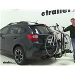Saris Freedom Hitch Bike Racks Review - 2015 Subaru XV Crosstrek