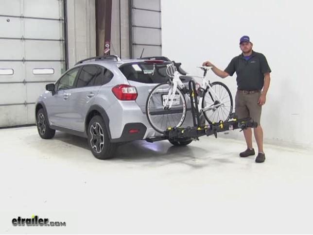 Saris Freedom Hitch Bike Racks Review 2015 Subaru Xv Crosstrek