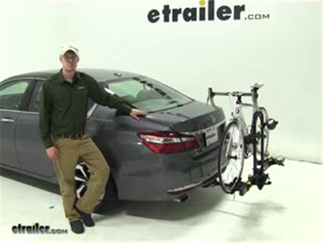 Saris Freedom Hitch Bike Racks Review   2017 Honda Accord Video |  Etrailer.com