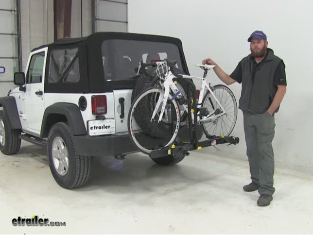 Jeep Wrangler Bike Rack >> Saris Freedom 2 Bike Rack Platform Style Spare Tire Mount