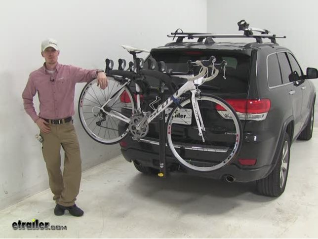 Saris Hitch Bike Racks Review   2014 Jeep Grand Cherokee Video |  Etrailer.com