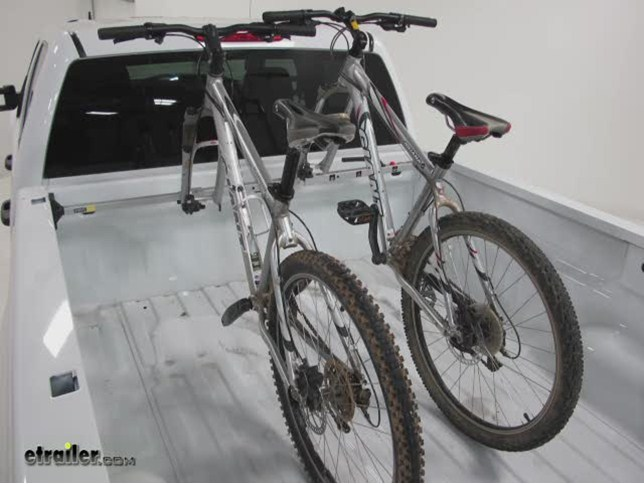 Saris Kool Rack Truck Bed Mount Bike Rack Review Video