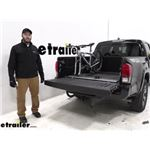 Saris Truck Bed Bike Racks Review - 2019 Toyota Tacoma