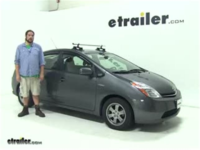 Seaer Roof Rack Review 2009 Toyota Prius