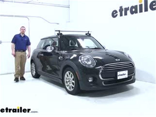 seasucker roof rack review - 2014 mini cooper video | etrailer