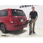 Softride Dura Parallelogram Hitch Bike Racks Review - 2015 Dodge Grand Caravan