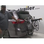 Softride Element-Parallelogram Hitch Bike Racks Review - 2015 Toyota Sienna
