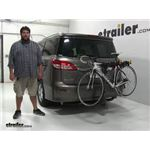 Softride Element-Parallelogram Hitch Bike Racks Review - 2016 Nissan Quest