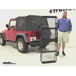SportRack  Hitch Cargo Carrier Review - 1997 Jeep Wrangler