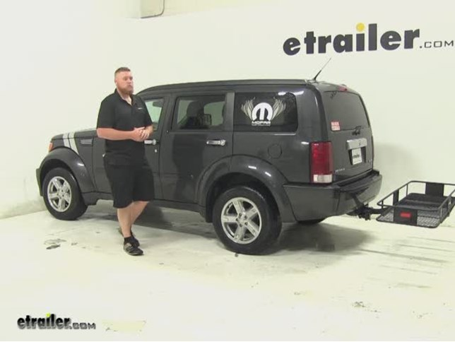 SportRack Hitch Cargo Carrier Review 2011 Dodge Nitro Video