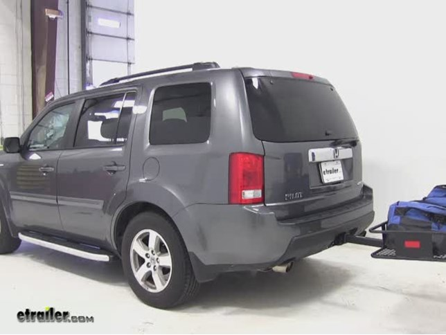 SportRack Hitch Cargo Carrier Review   2011 Honda Pilot Video | Etrailer.com